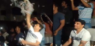 Vakeel Saab mania: Dil Raju throws papers in Theatre after seeing Pawan Kalyan