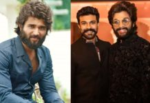 First Allu Arjun, second Ram Charan and next Vijay Deverakonda