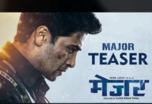 Major teaser review: Adivi Sesh as real Soaldier