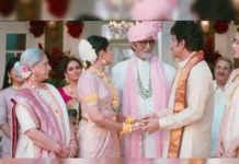Nagarjuna in ad with Amitabh and Regina