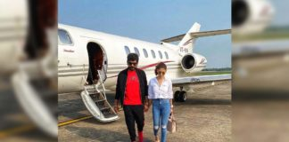 Nayanthara and Vignesh Shivan head to Cochin in a private jet