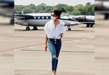 Nayanthara lands in Hyderabad for Annaatthe