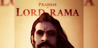 Prabhas look as Lord Rama: Fan made poster