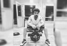 Ram Charan strong morning in Gym