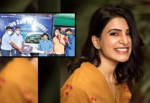 Samantha gifts a car to female auto driver Kavitha