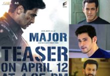 Superstars Salman Khan, Mahesh Babu, Prithviraj Sukumaran To Launch Teaser Of Adivi Sesh's Major