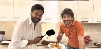 Chiranjeevi cooks special dishes for Nagarjuna
