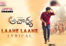 30M+ views for Laahe Laahe from Acharya