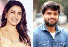 Anil Ravipudi narrates lady-oriented story to Samantha Akkineni
