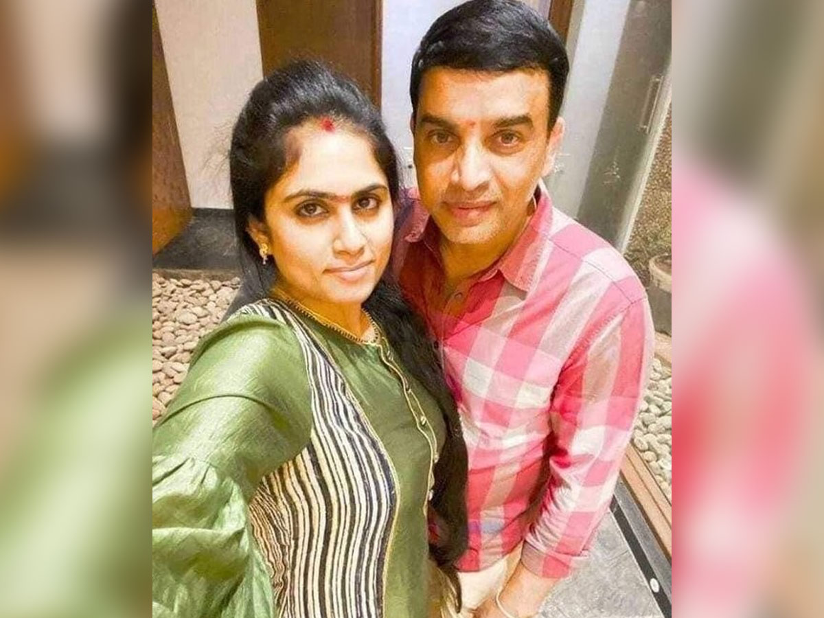 Dil Raju celebrates his first wedding anniversary in USA