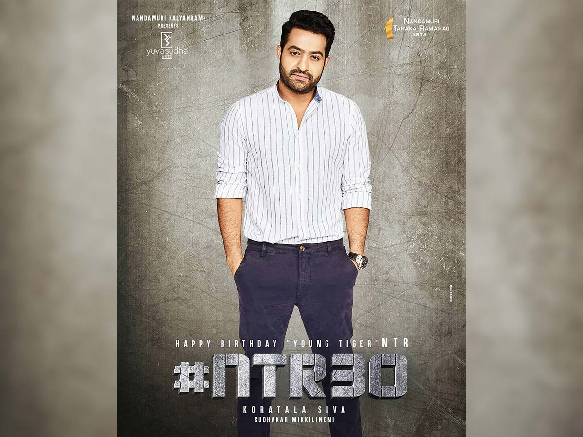 NTR30 team sends birthday wishes to Jr NTR - tollywood
