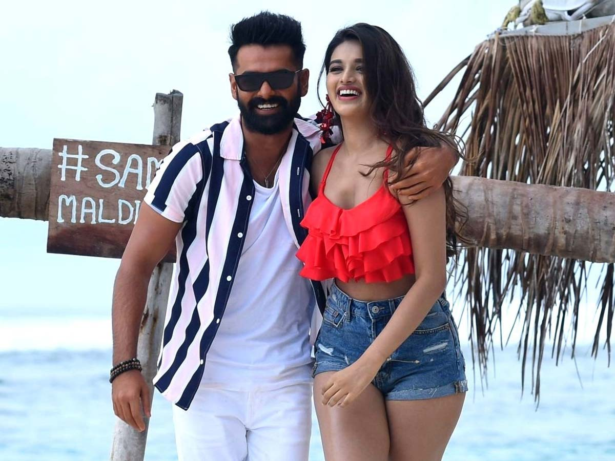 Nidhhi Agerwal special dance number in Ram Pothineni film?