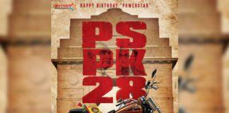 Pawan Kalyan new look for #PSPK28