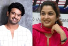 Ramya Krishnan as Prabhas sister in Salaar?