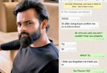 Sai Dharam Tej warns people