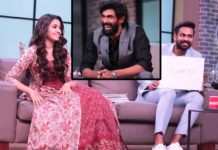 Uppena pair- Vaisshnav Tej and Krithi Shetty in Rana show no 1 Yaari