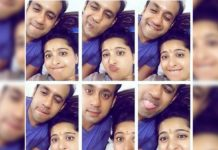 Anushka Shetty funny expressions with her brother