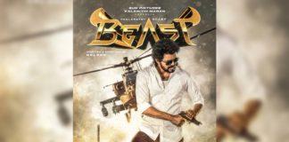 Beast Second Look: Vijay holds rifle bullet between his lips