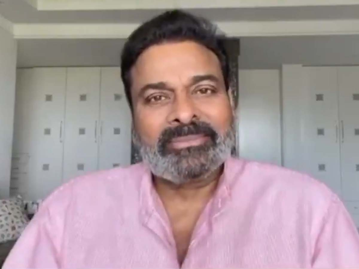 Chiranjeevi with grey beard! Is this his Lucifer remake look?