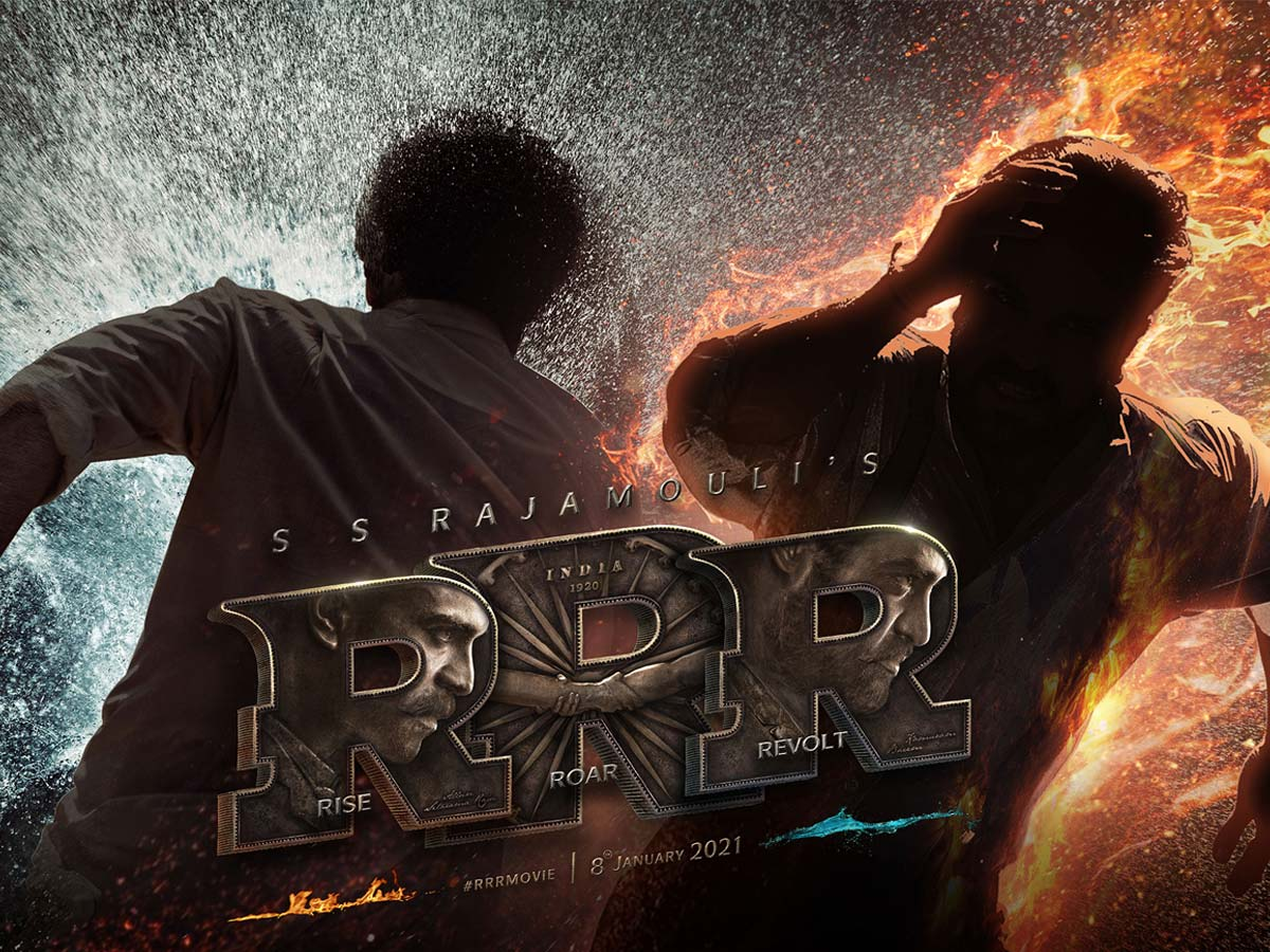Jr NTR and Ram Charan epic song in RRR