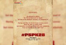 Mythri shares Pawan Kalyan #PSPK28 Title and First look update