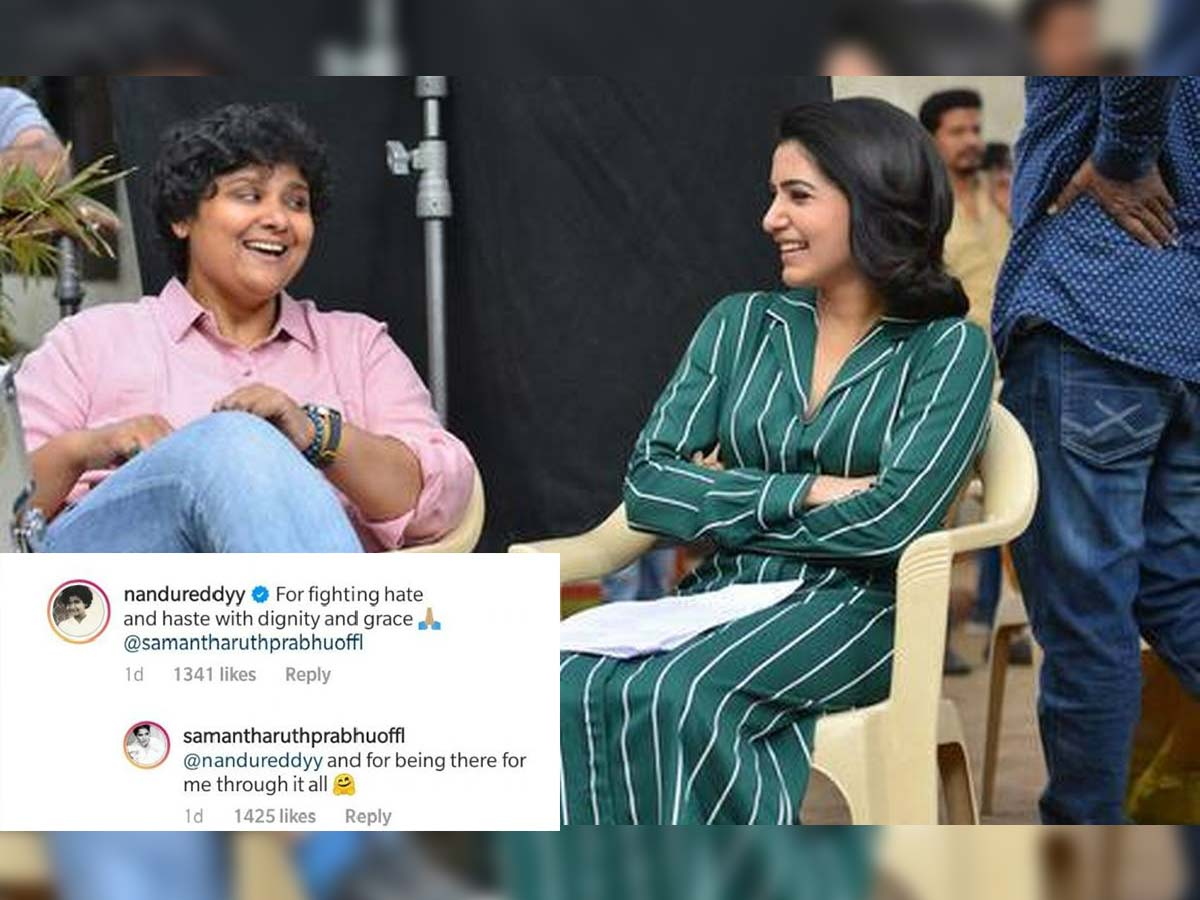 Nandini Reddy: Samantha fights hate and haste with dignity and grace