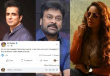 Sri Reddy: Sonu sood is a real hero, why not Chiranjeevi?