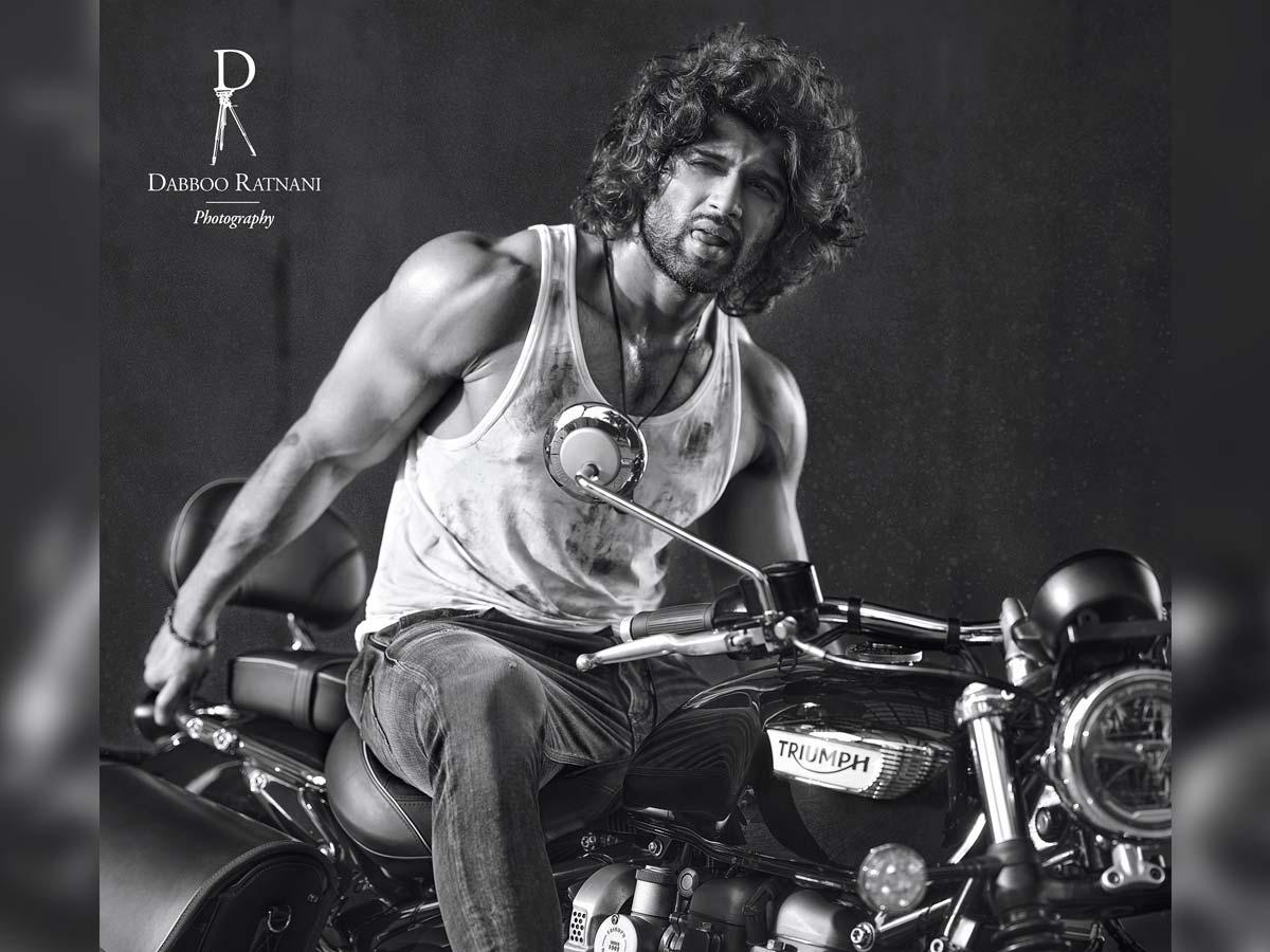 Vijay Deverakonda makes his debut on Dabboo Ratnani calendar