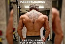Agent: Akhil Akkineni shows off the rippling muscles