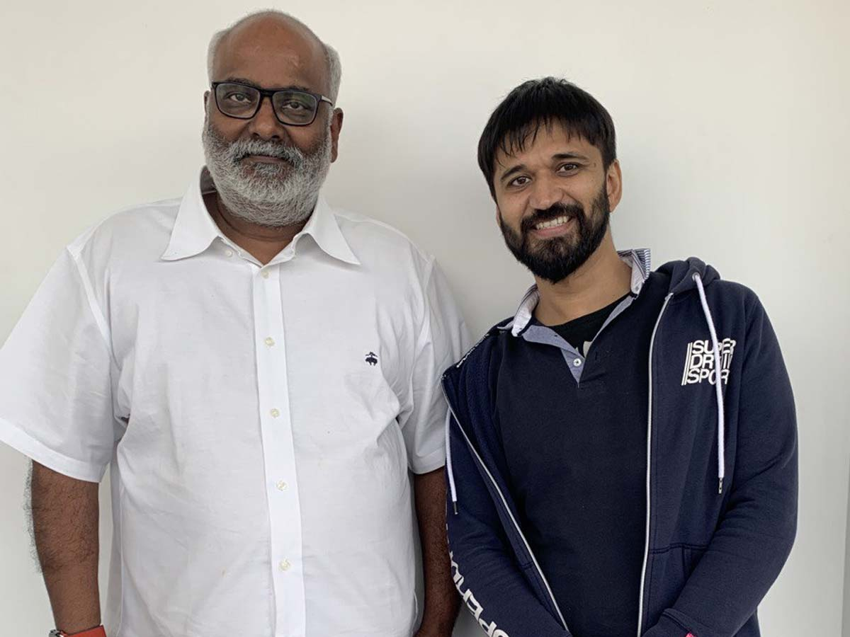 Amit Trivedi croons a number for RRR