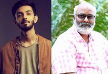 Anirudh Ravichander wraps up RRR music session with MM Keeravani