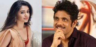 Big offer to Krithi Shetty from Nagarjuna for his son