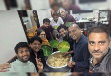 Comedian Ali Biryanitreat to F3 movie Team