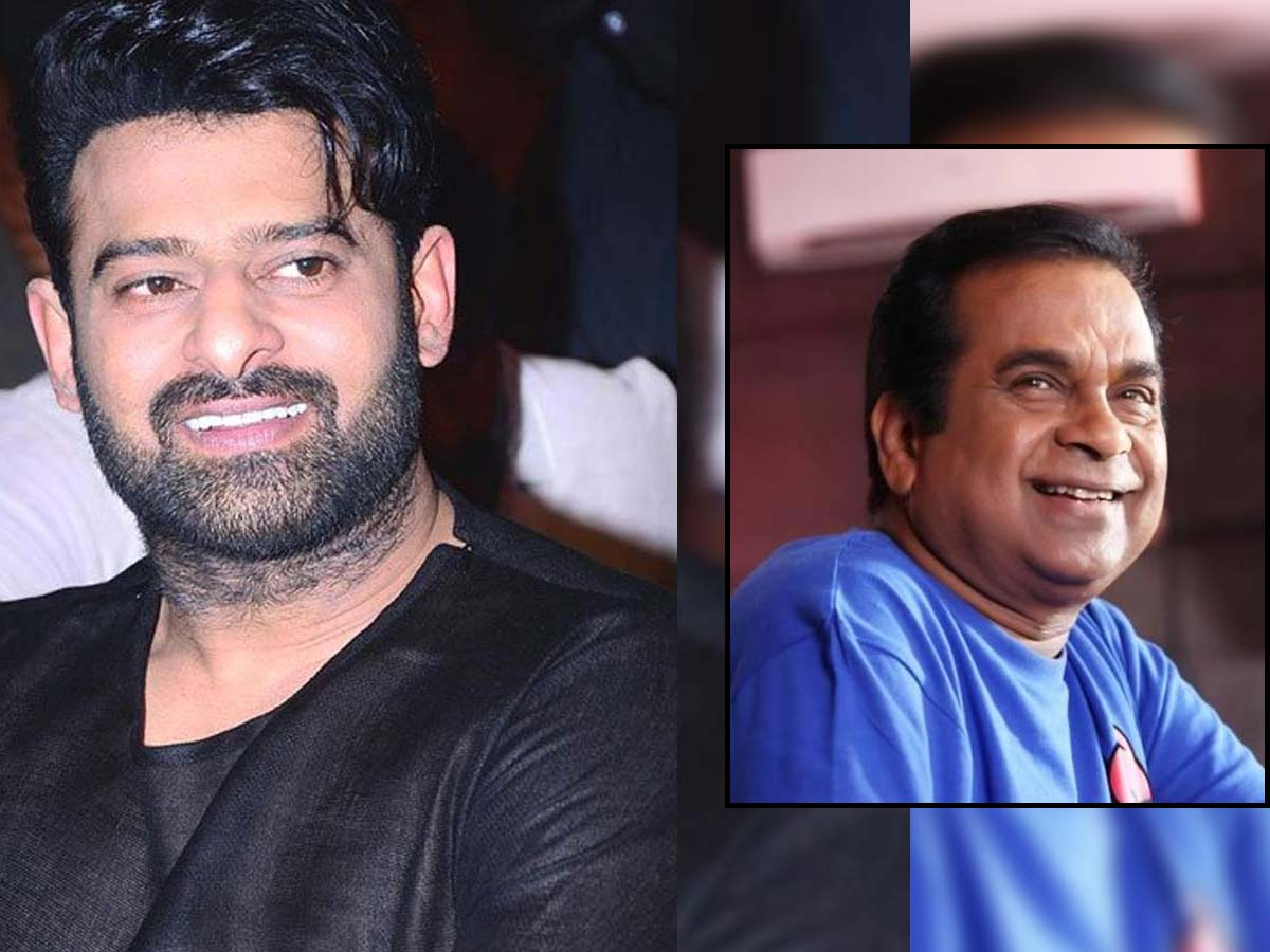 Comedy track on Prabhas and Brahmanandam in Project K