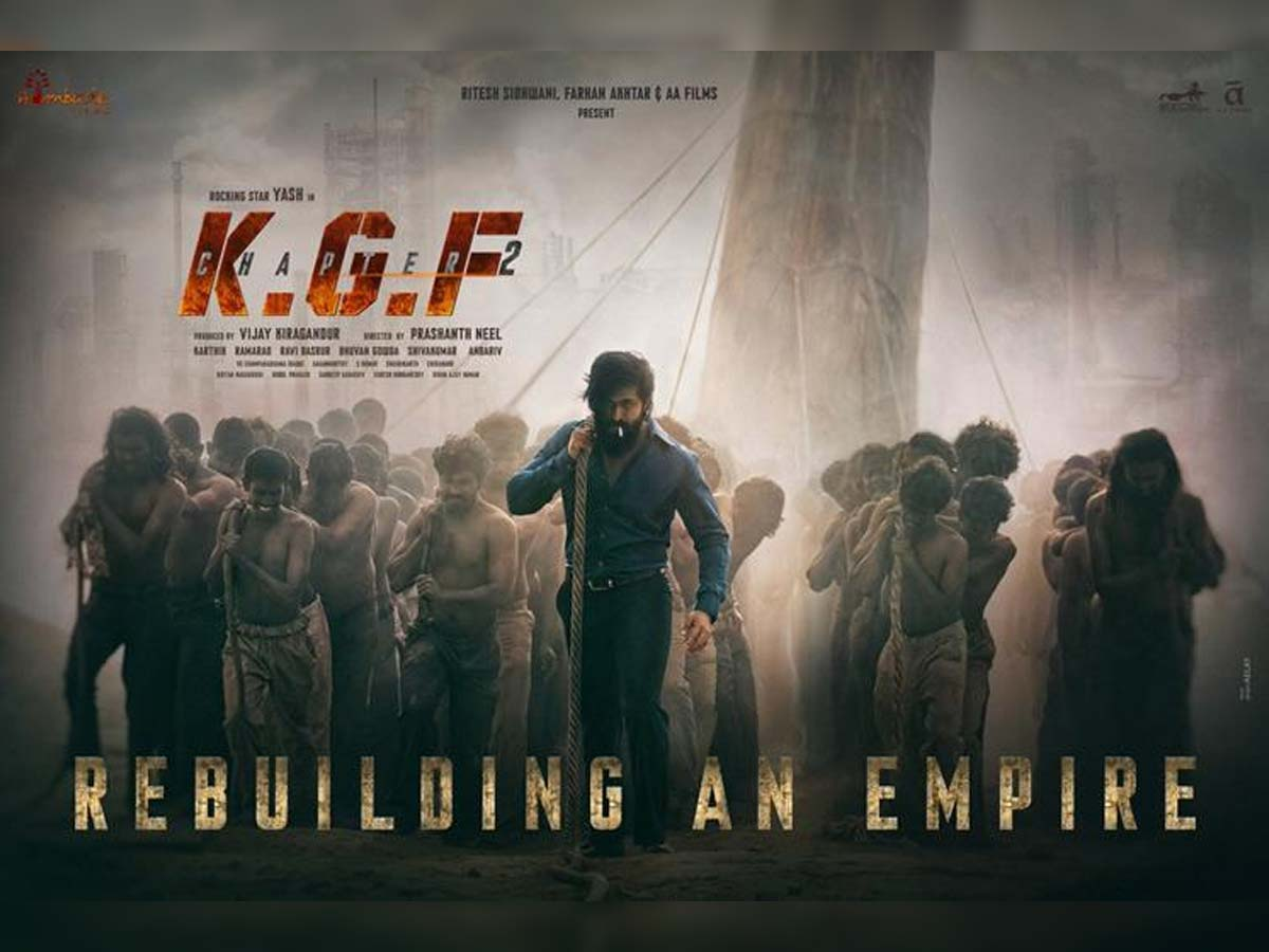 KGF: Chapter 2 audio rights sold for a bomb