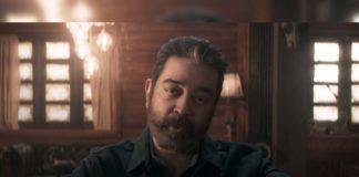 Kamal Haasan – A blind person in Vikram