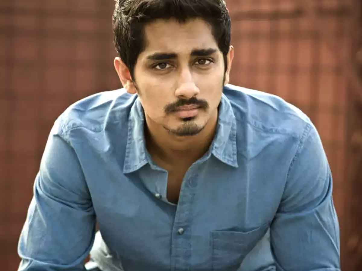 Maha Samudram actor Siddharth is on the list of dead southern actors