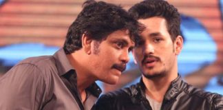 Nagarjuna stands in support to Akhil