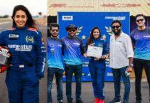 Nivetha Pethuraj becomes a certified Formula car racer