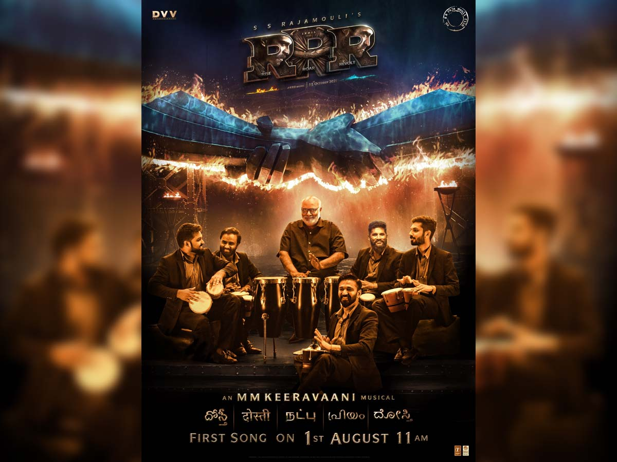 RRR: Special friendship song Dosti on 1st August