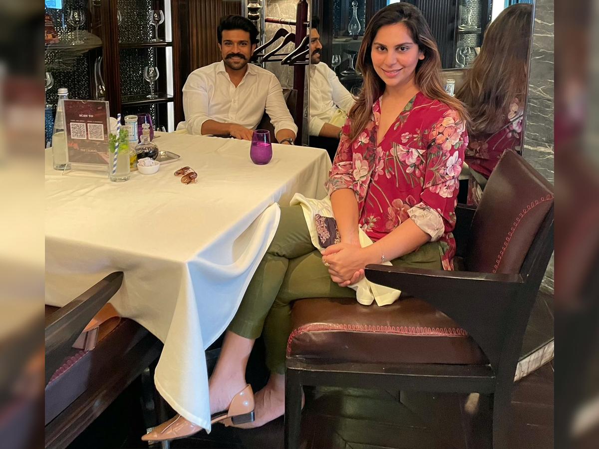 Ram Charan and Upasana on lunch date