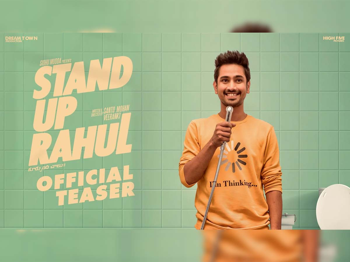 Stand Up Rahul teaser review