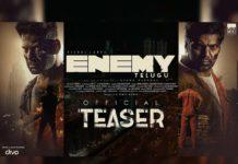 Vishal and Arya Enemy teaser review
