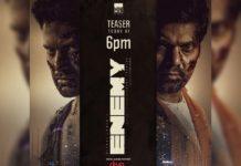 Vishal and Arya Enemy teaser today evening