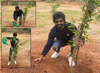 Aadhi accepts Green India Challenge