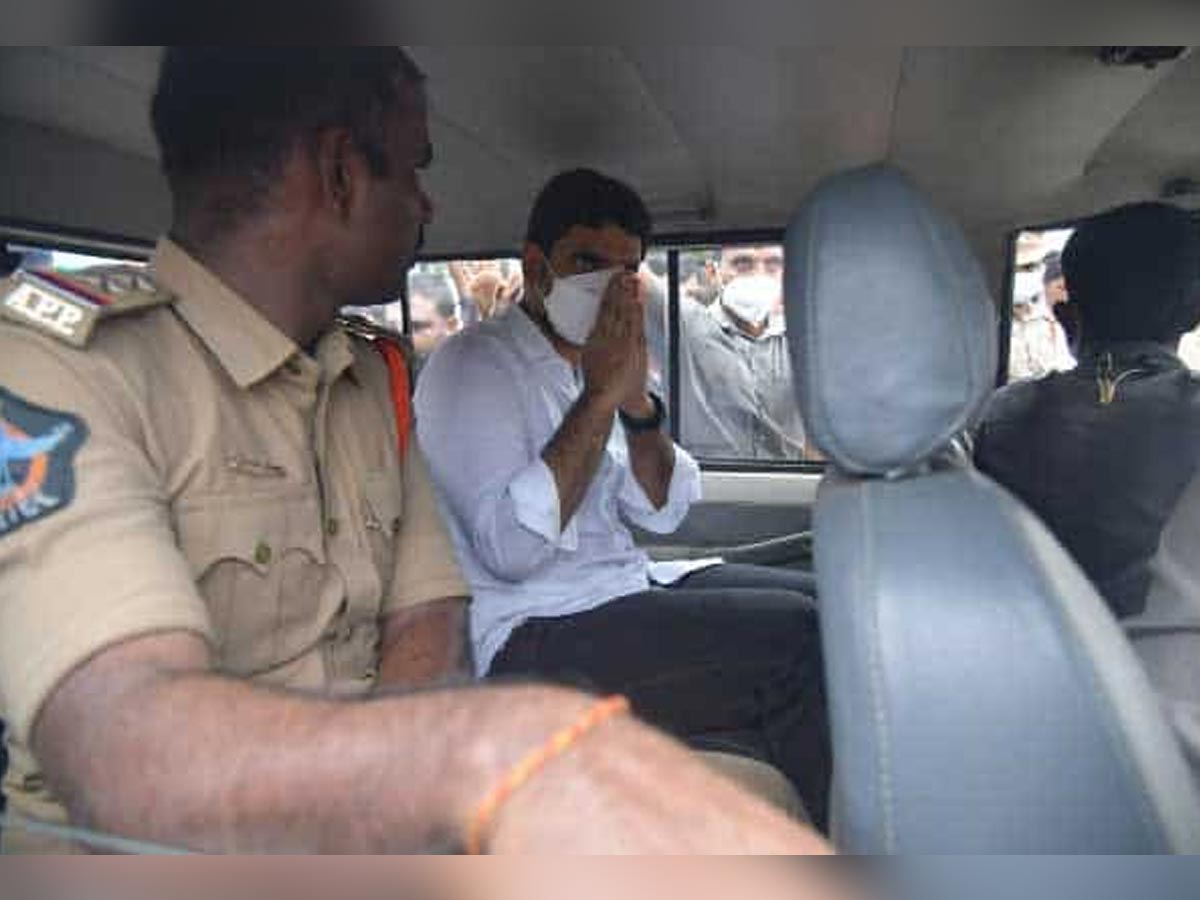 First time, Nara Lokesh arrested