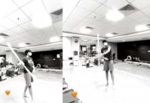 Pawan Kalyan son Akira performs martial arts