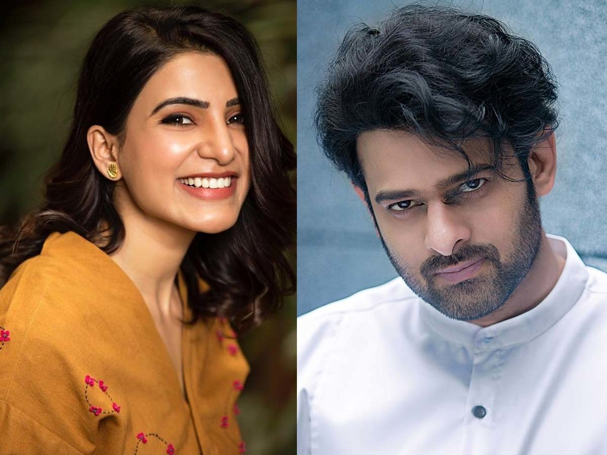 Samantha: I will be glad to become part of Prabhas film