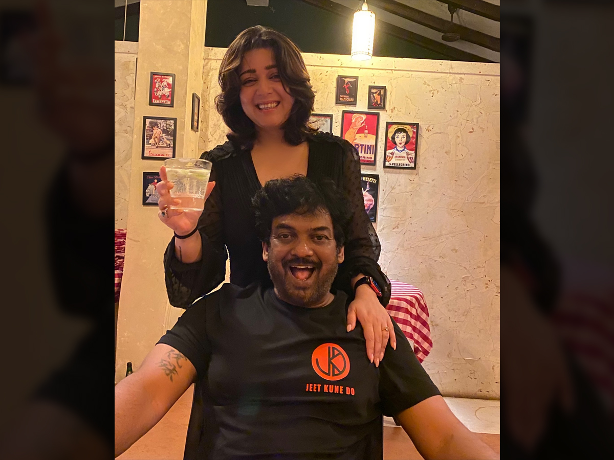 Charmee Kaur special wishes for her most favorite human Puri Jagannadh birthday