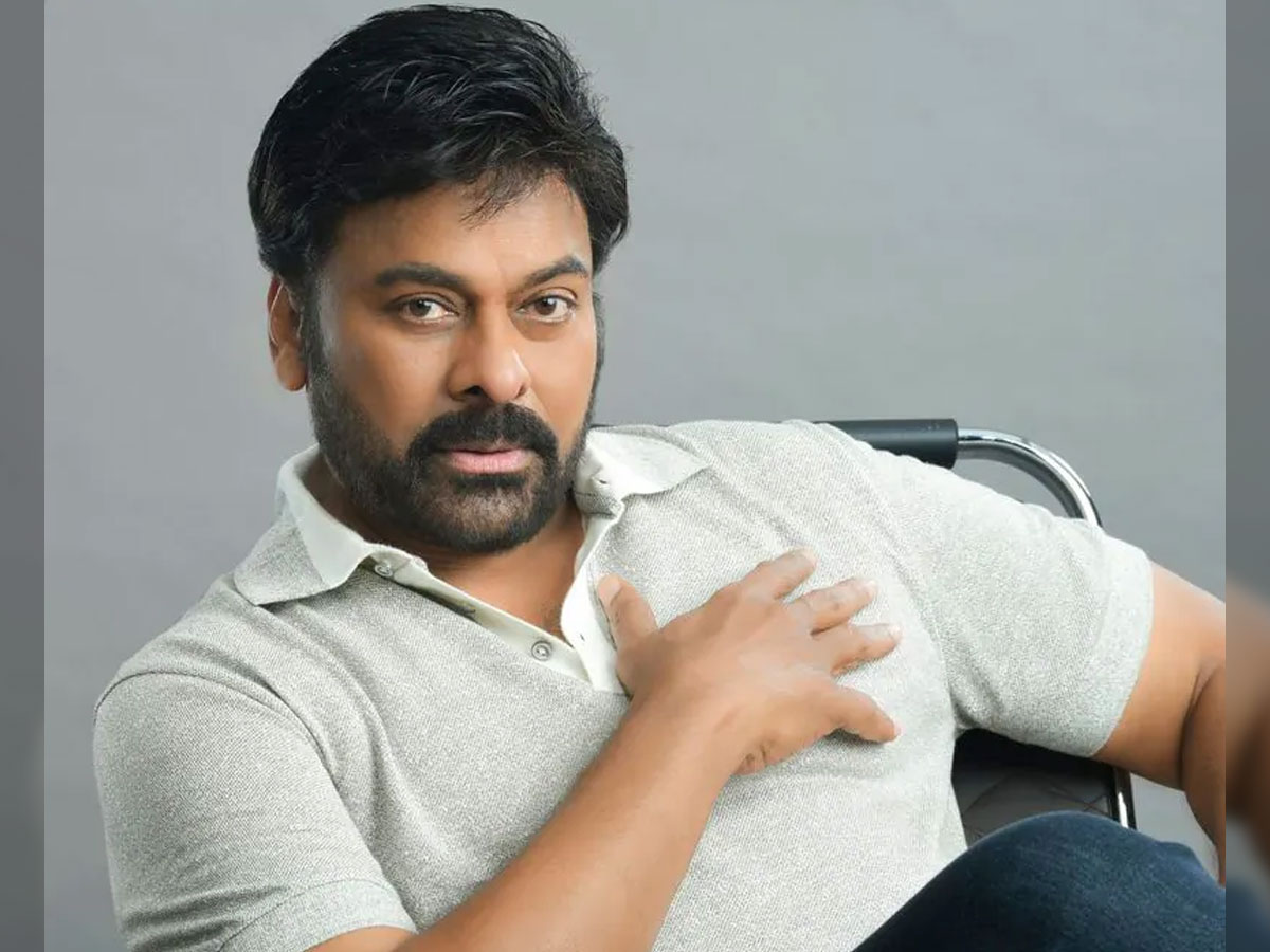Chiranjeevi two different looks in Bhola Shankar